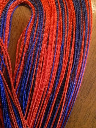 """Illini"" EveryDay Rainbow. Also available in your school's colors!!"