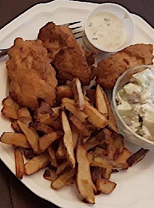 Pub fish 2 plates